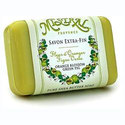 Shea Butter Soap -Orange Blossom/Green Fig