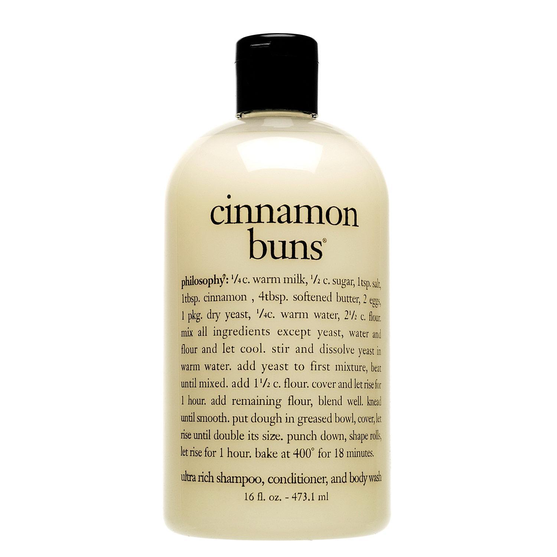 Cinnamon Buns Shampoo, Shower Gel & Bubble Bath