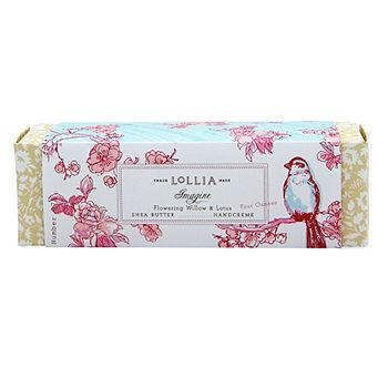 Flowering Willow & Lotus Shea Butter Handcreme, Imagine0.33 oz (21 g)