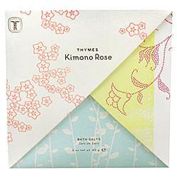 Kimono Rose Bath Salts Envelope