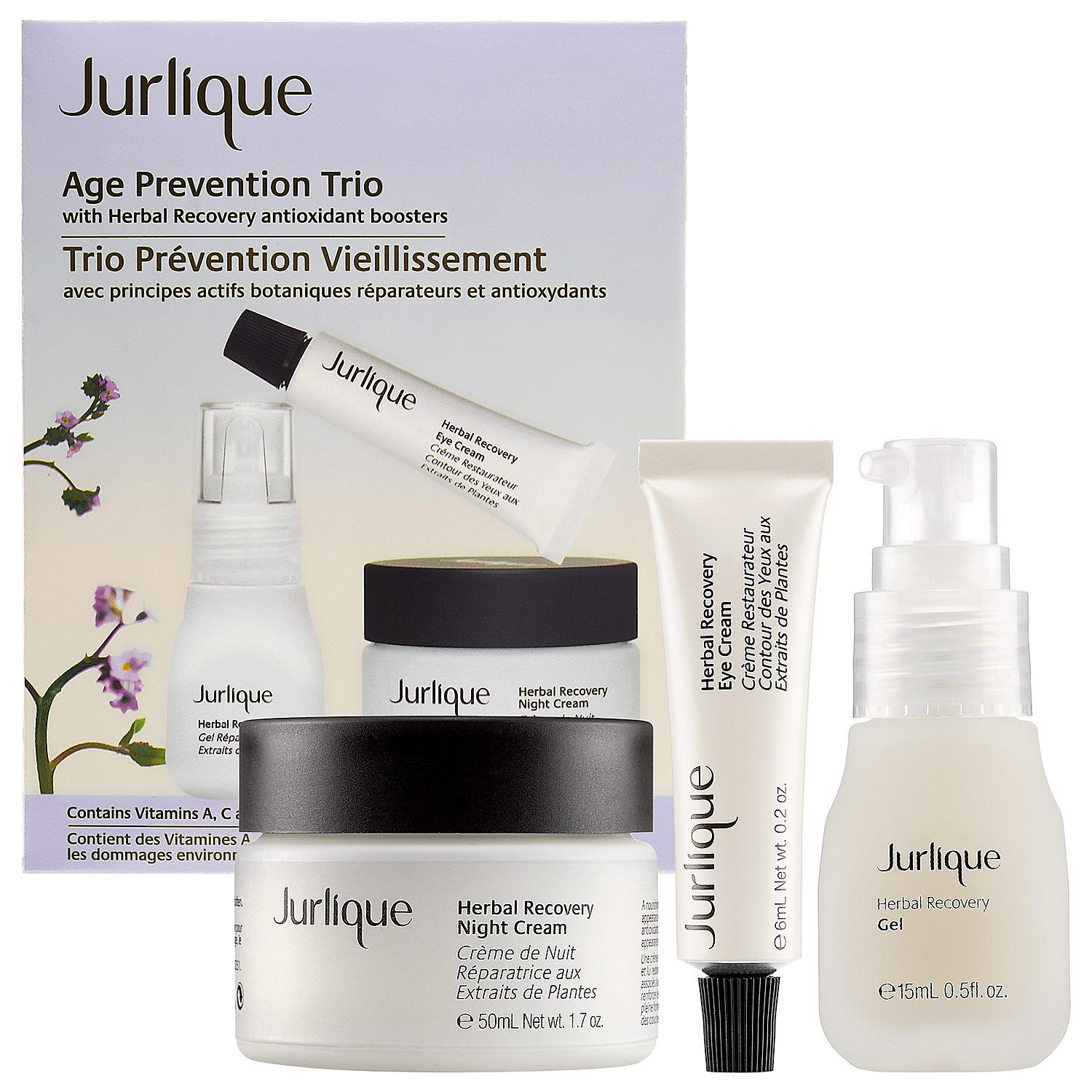 Age Prevention Trio With Herbal Recovery Antioxidant Boosters