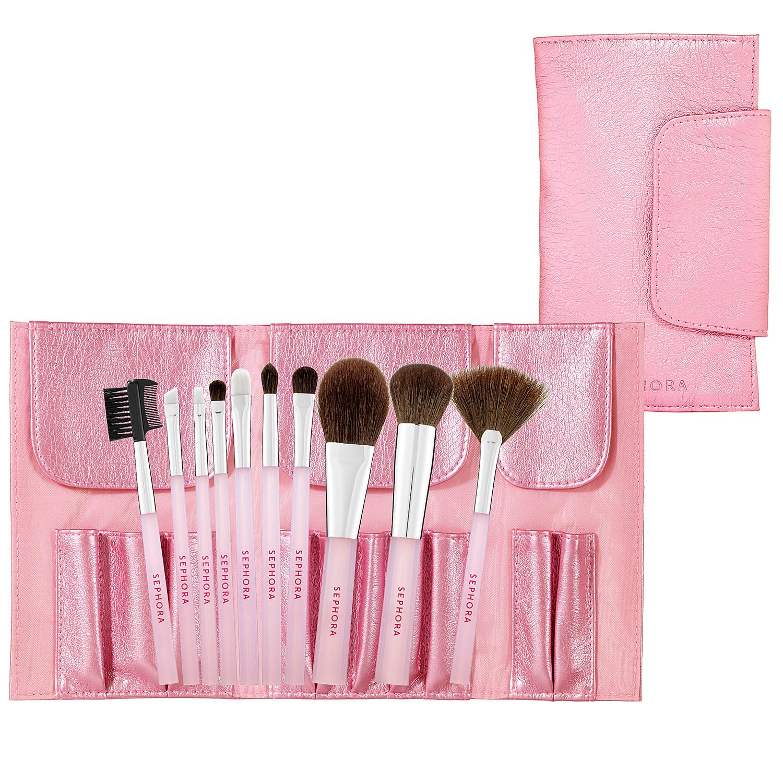 'Perfect Pink' Brush Set