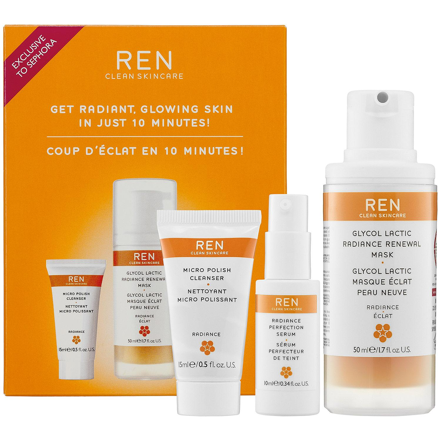 Get Radiant, Glowing Skin In Just 10 Minutes! Kit