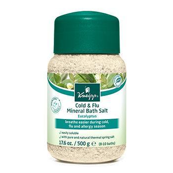 Eucalyptus Cold & Flu Mineral Bath Salts17.6 oz