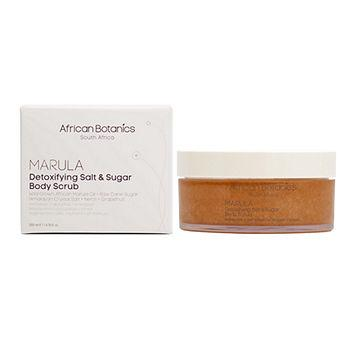 Marula Detoxifying Salt & Sugar Body Scrub 6.76 oz (200 ml)