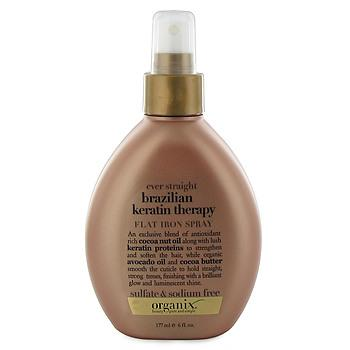 Ever-Straight Brazilian Keratin Therapy Flat Iron Spray