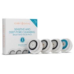 Brush Head 4pk - Sensitive & Deep Pore Cleansing