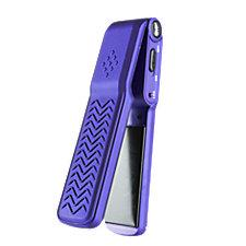 GVP Purple Soft Touch Mini Flat Iron
