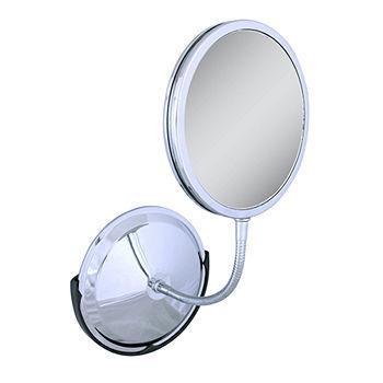 Triple Vision Gooseneck, Vanity & Wall Mount Mirror1 ea