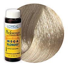 L'Oreal Mega Blondes Haircolor Ash Blonde MB4