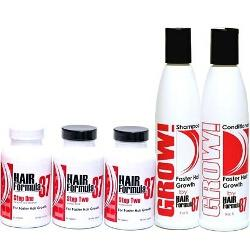 Vitamins and Shampoo and Conditoner Set