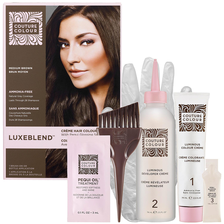 Luxeblend™ Crème Hair Colour With Pequi Glossing Serum — Medium Brown