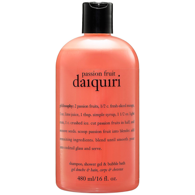 Passion Fruit Daiquiri Shampoo, Shower Gel & Bubble Bath