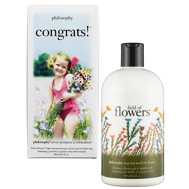 Congrats!™ Shampoo, Bath and Shower Gel