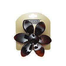 DCNL Tortoise Flower Auto Clip