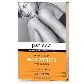 Parissa Wax Strips Legs & Body 16 Strips