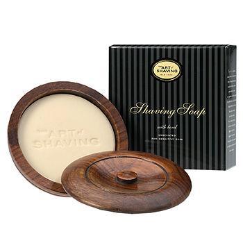 Shaving Soap with Bowl, Unscented for Sensitive Skin3.4 oz (95 g)