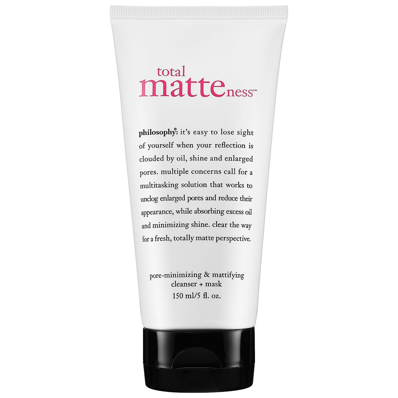 Total Matteness™ Pore-Minimizing & Mattifying Cleanser Mask