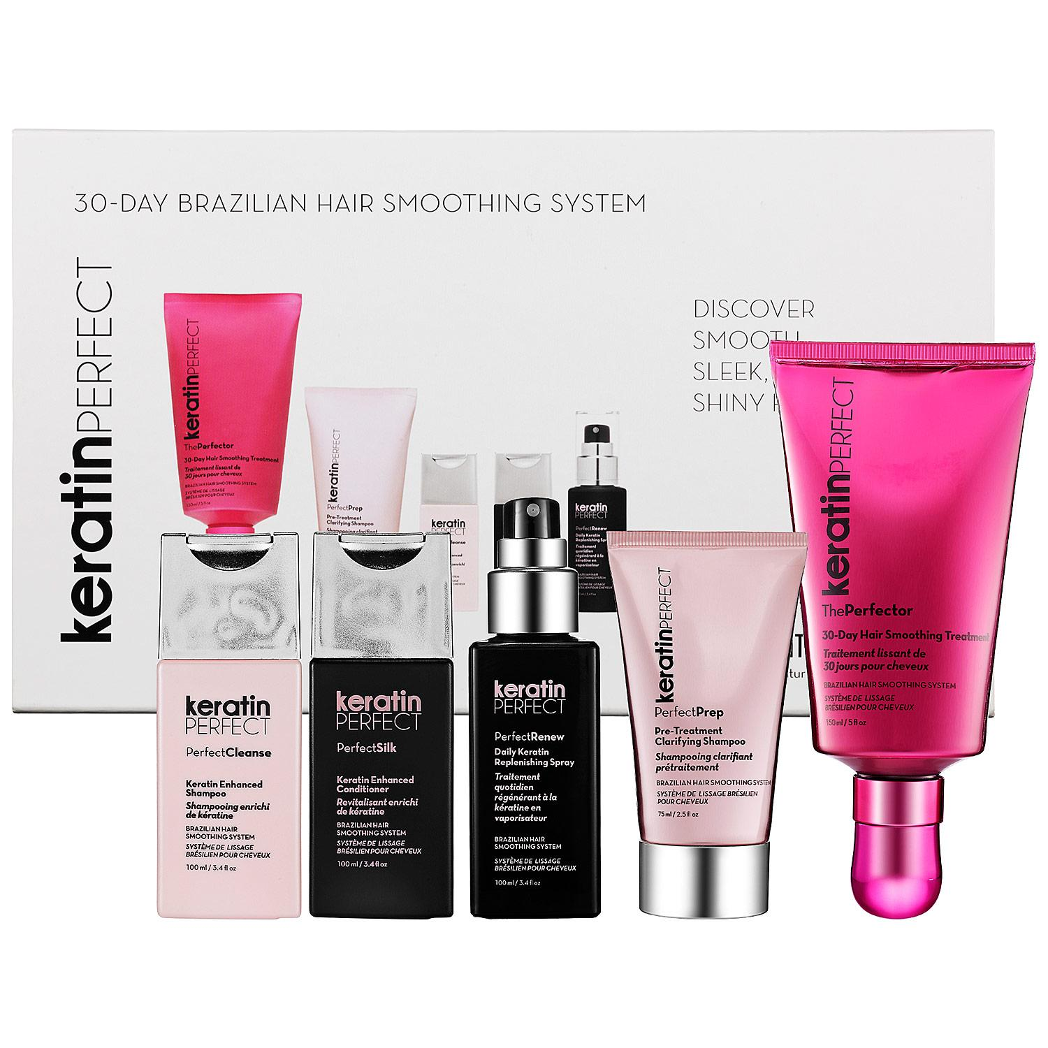 30-Day Brazilian Hair Smoothing System Essentials Collection