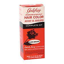 Godefroy Jel Color Kit Dark Brown