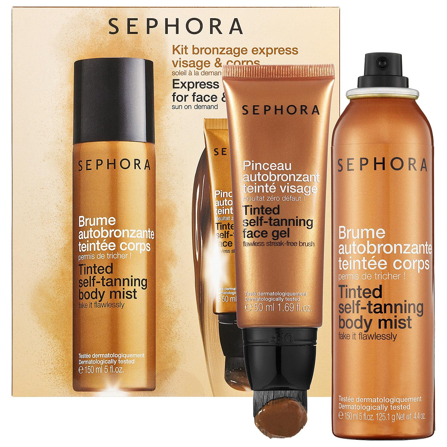 Express Self-Tanning Kit for Face & Body