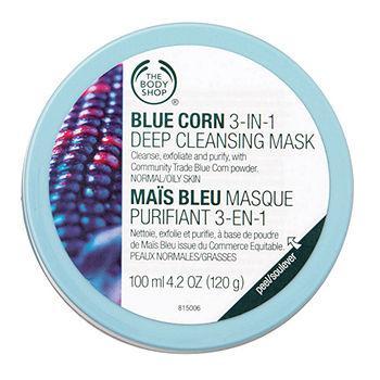 Blue Corn 3 in 1 Deep Cleansing Scrub Mask3.38 fl oz (100 ml)