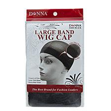Large Band Wig Cap