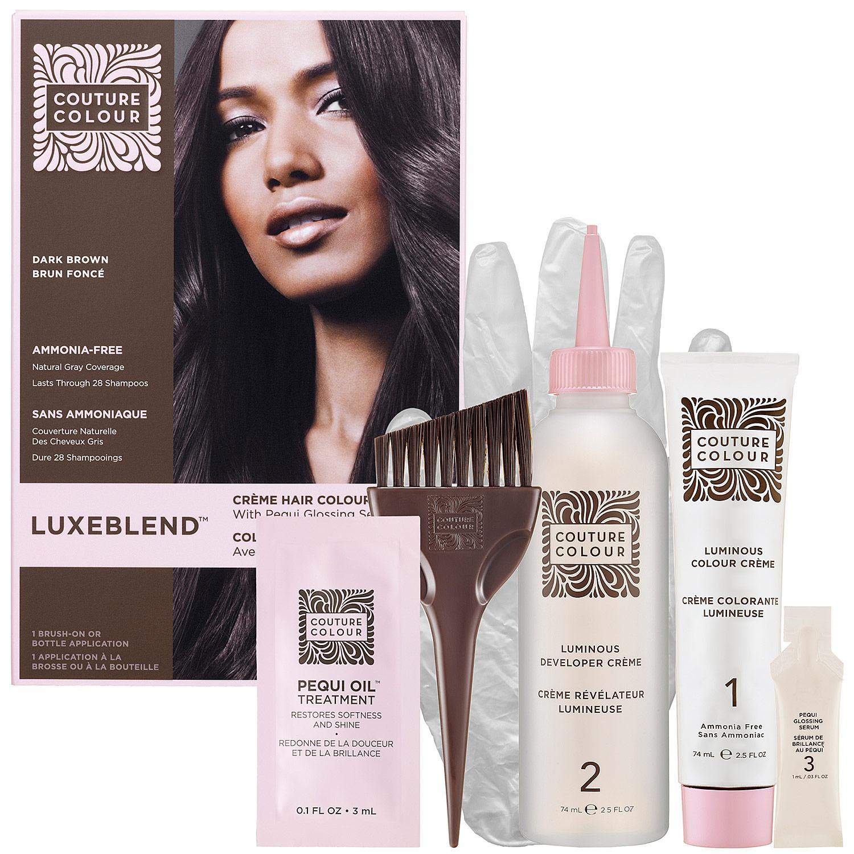 Luxeblend™ Crème Hair Colour With Pequi Glossing Serum — Dark Brown