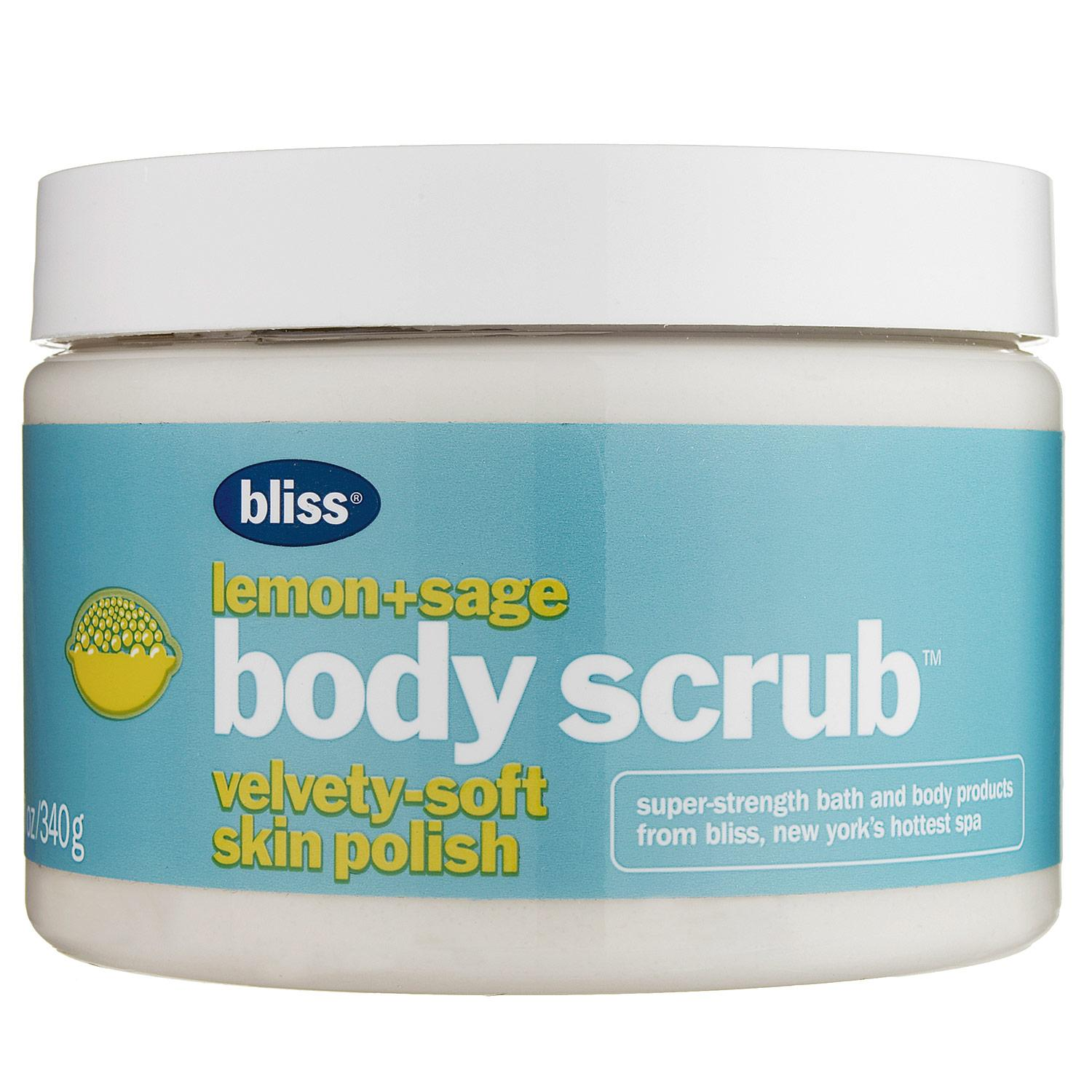 Lemon+Sage Body Scrub
