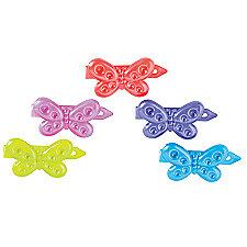 Childrens Butterfly Barrettes