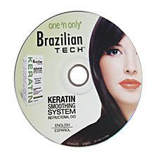 One 'n Only Brazilian Tech Keratin Smoothing System DVD