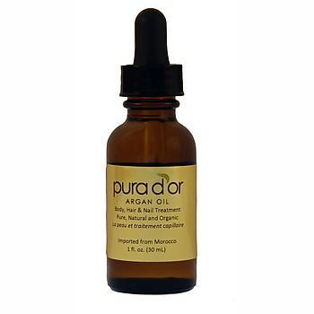 Pura d'or Organic Argan Oil 1 oz.