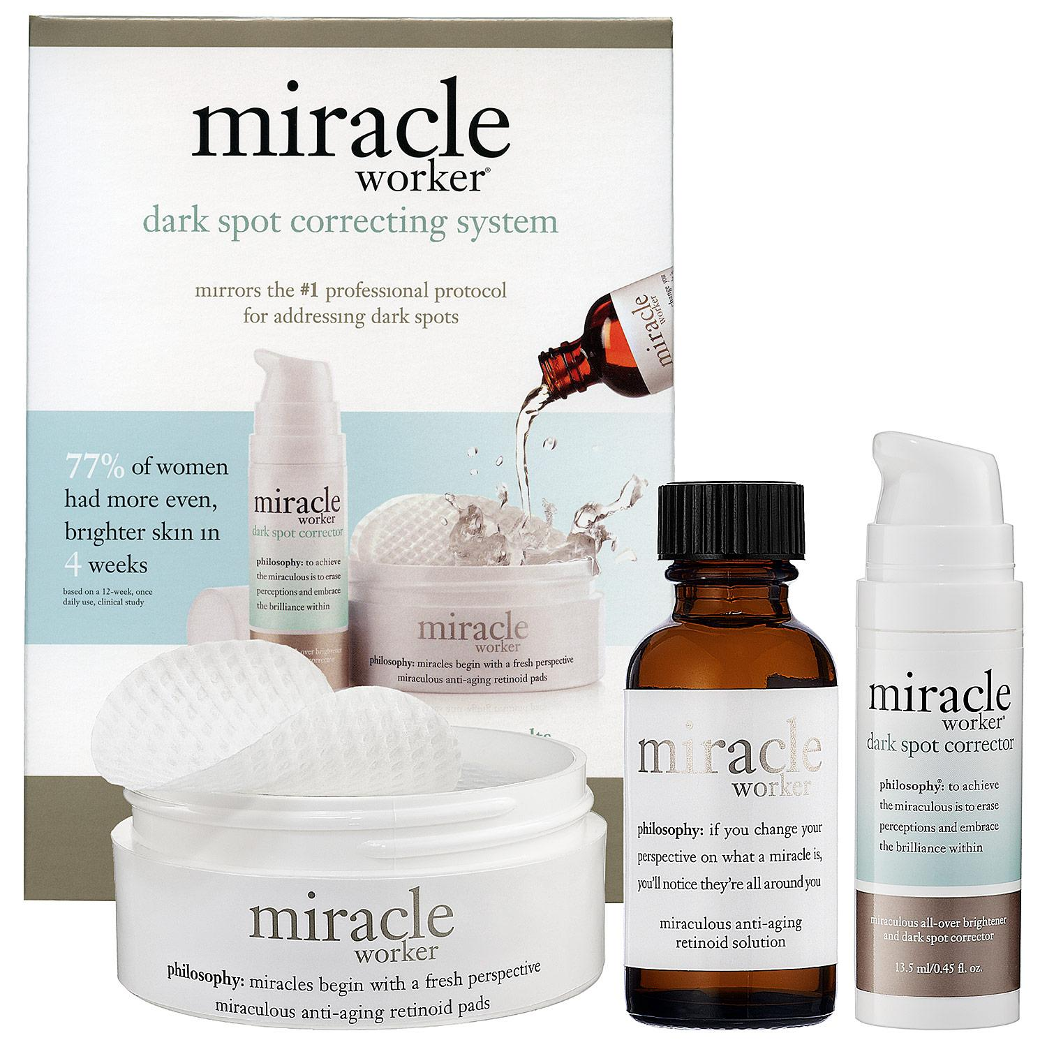 Miracle Worker Dark Spot Correcting System