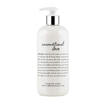unconditional love firming body emulsion16 fl oz (473 ml)