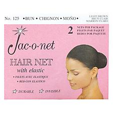 Chignon Bun Light Brown