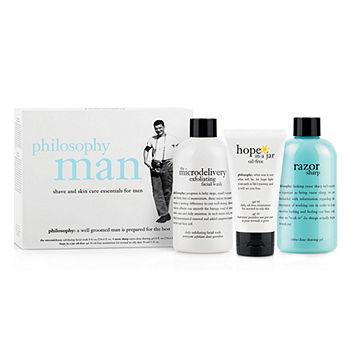 man - shave and skin care essentials for men 1 ea