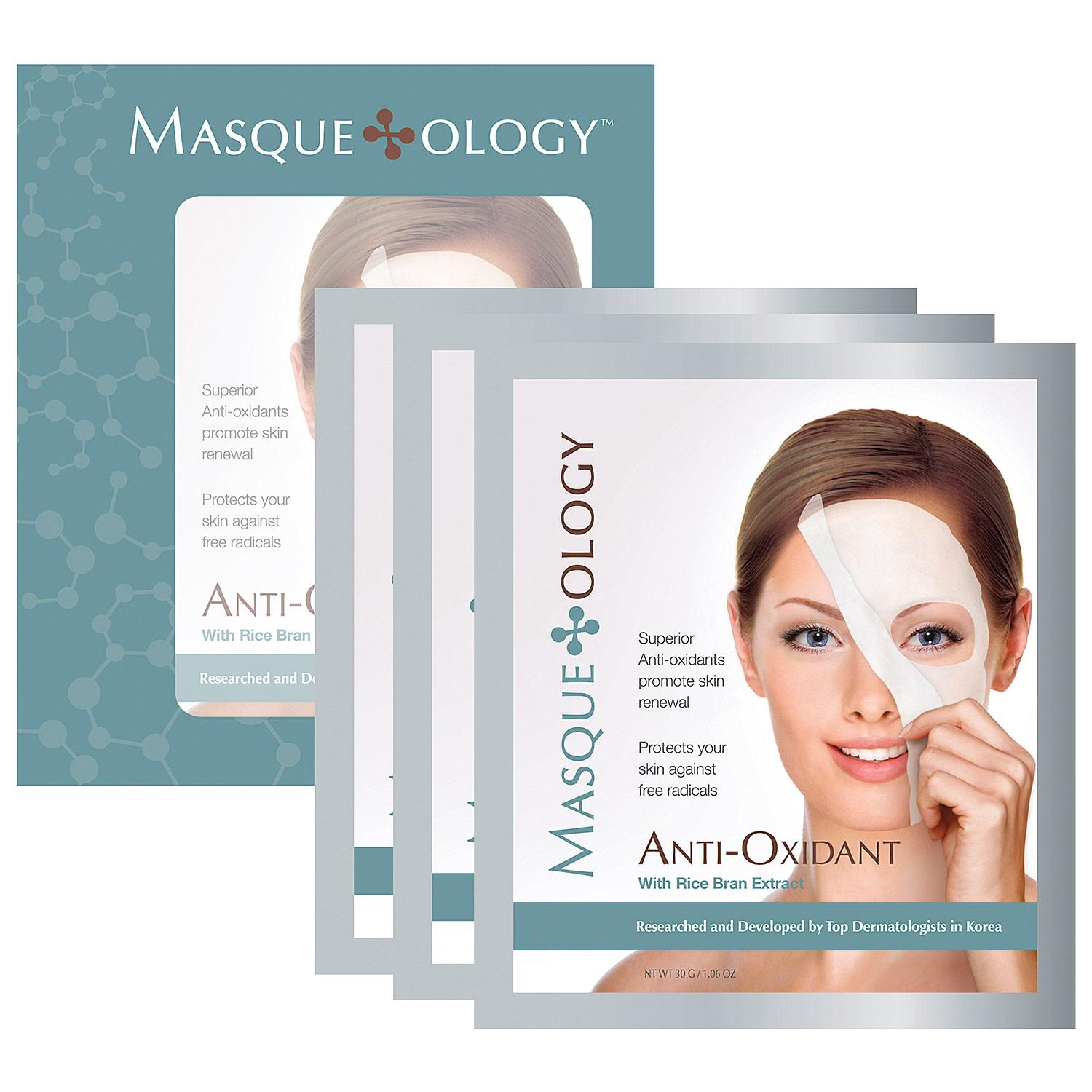 Anti-Oxidant Masque With Rice Bran Extract