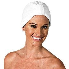 Headline White Terry Turban Headwear #165