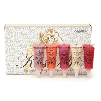 Kiss Miss - Mini Lip Lacquer Set 1 ea