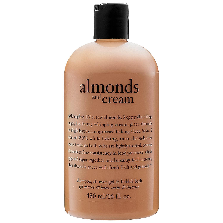 Almonds And Cream Shampoo, Shower Gel & Bubble Bath