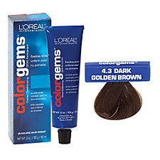 L'Oreal Color Gems Haircolor Dark Gold Brown