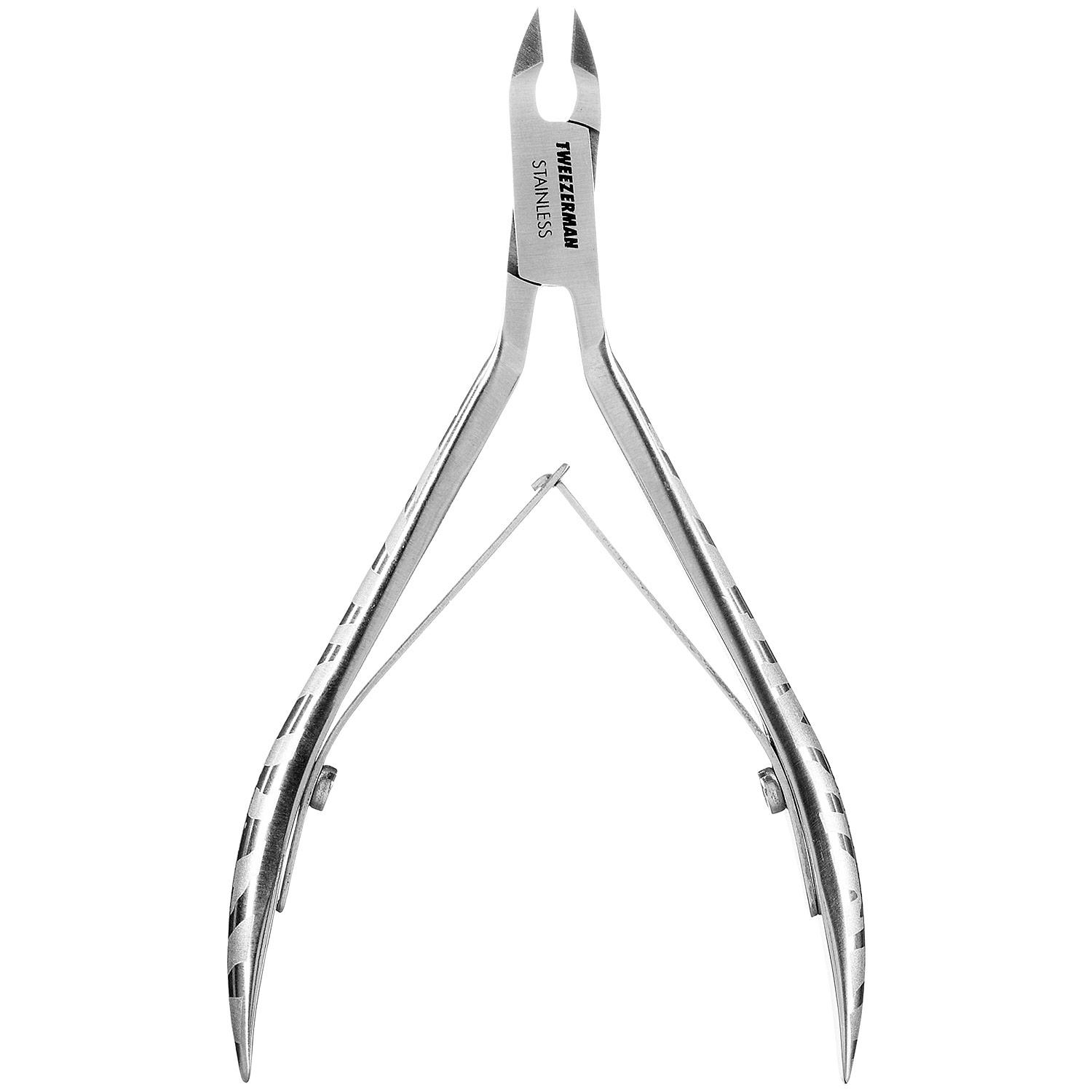 Satin Etched Zebra Cuticle Nipper