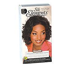 Silk Elements MegaSilk Hair Color System Midnight Black