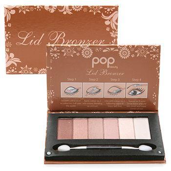 Lid Bronzer, Eye Shadow Palette0.21 oz (5.9 g)
