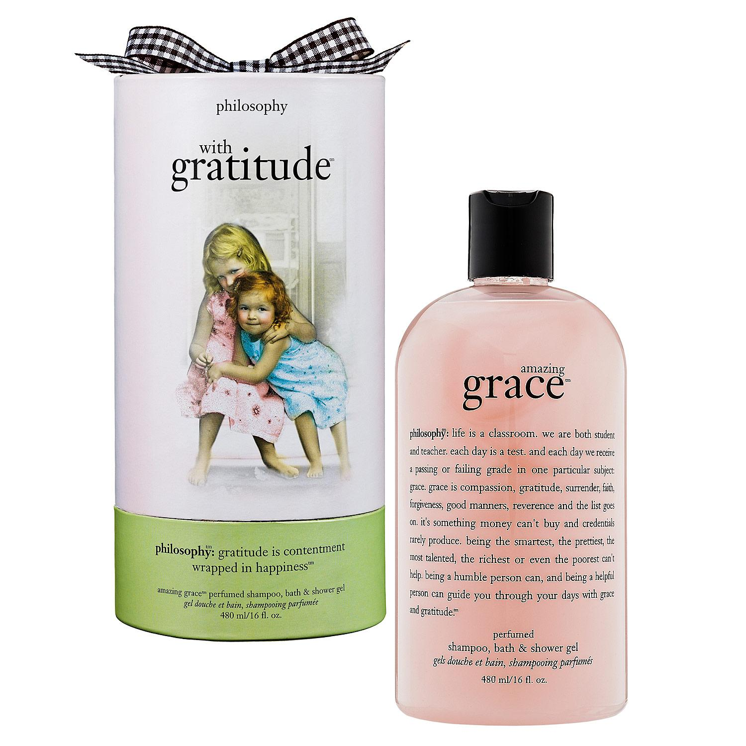 philosophy with gratitude shampoo bath and shower gel bath amp shower gels scented bubble baths shampoos and