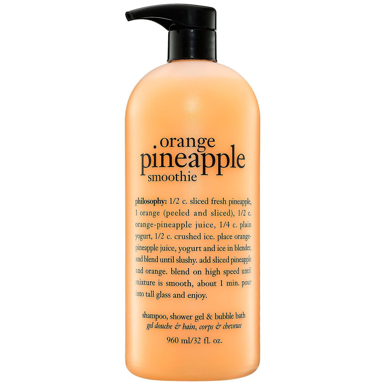 Orange Pineapple Smoothie Shampoo, Shower Gel & Bubble Bath