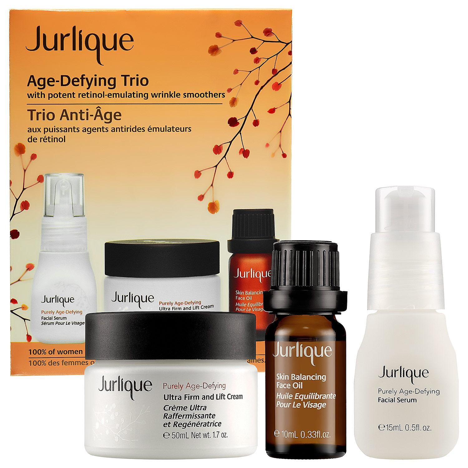 Age-Defying Trio With Potent Retinol-Emulating Wrinkle Smoothers