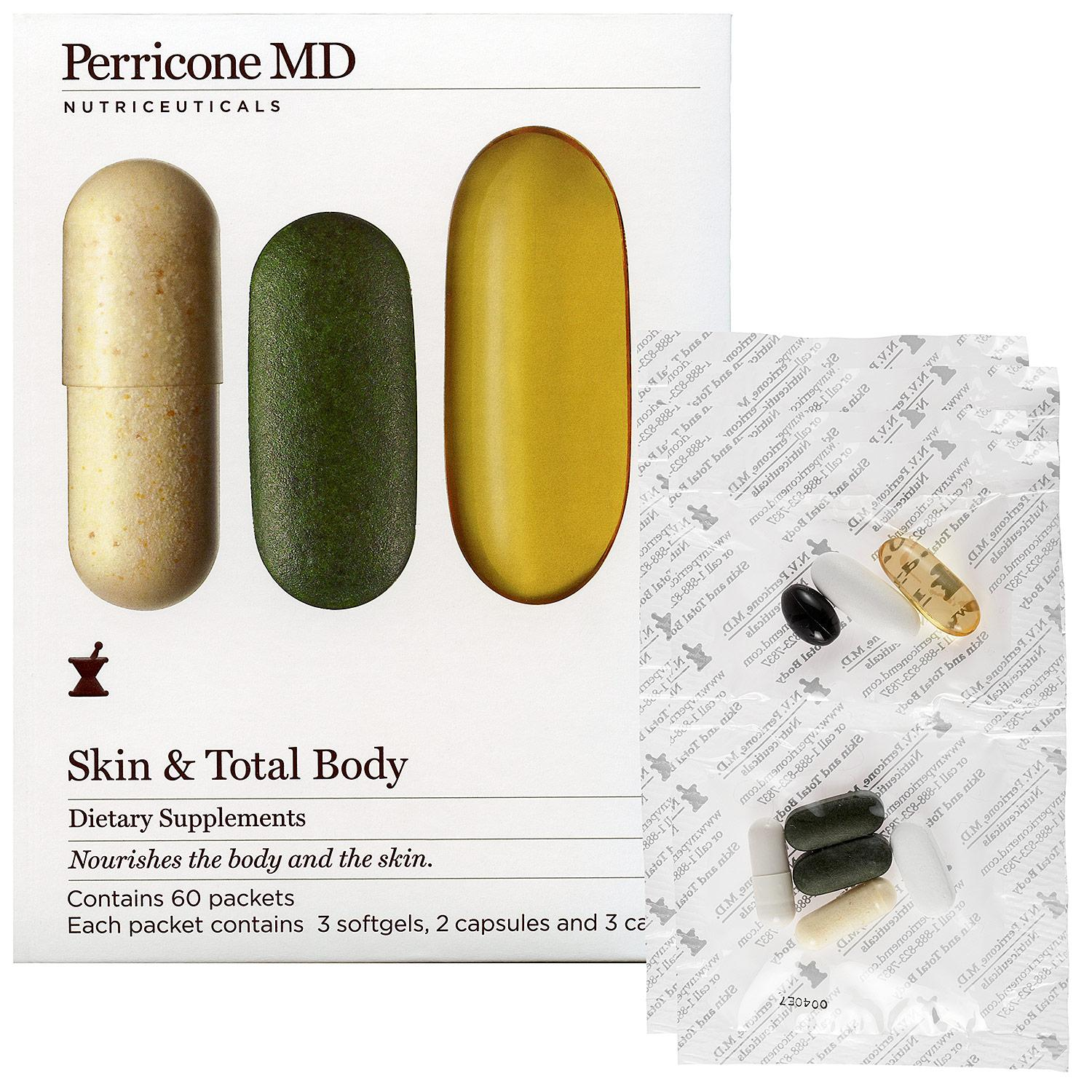 Skin & Total Body Dietary Supplements