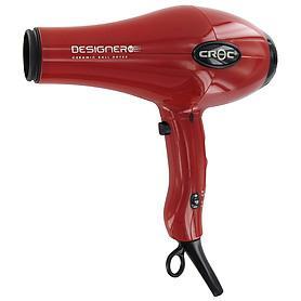 Croc Designer AC Dryer Red