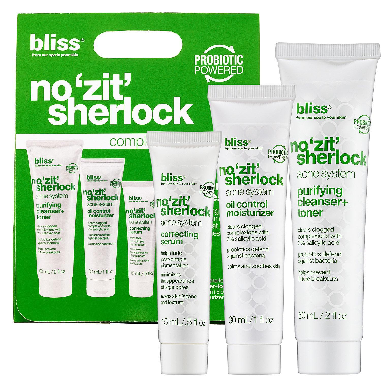 No 'Zit' Sherlock Complete Acne System